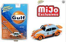 Johnny Lightning Volkswagen Beetle Gulf Oil Racing MiJo Exclusive Pre Order