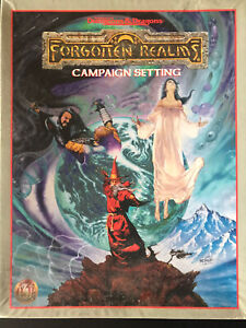 AD&D 2nd Edition Forgotten Realms Campaign Setting