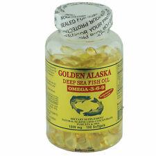 96 x Golden Deep Sea Fish Oil Omega-3-6-9 100 Softgels