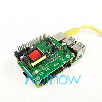 5V 12V PoE HAT Raspberry Pi 4 4B 3B+ 3B Plus 3.5in Hard Disk Drive LED 26Watt