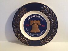 Vintage Collector Bicentennial Commemorative Plate of Liberty Bell 1776 - 1976