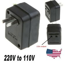 Step Down 220-240V to 110-120V Travel Converter Voltage Transformer Adapter
