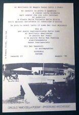 vittorio cavina - poesia in cartolina - ippodromo arcoveggio - 1997