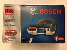 New Bosch BSH180B 18V 18 Volt Band Saw With 3 Blades New in Box NIB Bare Tool