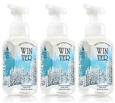 3 Bath & Body Works WINTER Gentle Foaming Hand Soap
