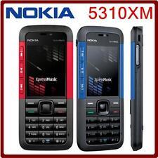 Original Nokia 5310 Xpress Music Slim Cell Phone Bluetooth Java MP3 Player