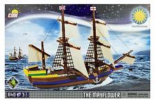 Mayflower Pilgrim Ship Building Brick Block Set