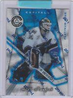1997-98 (CAPITALS) Pinnacle Totally Certified Platinum Blue #12 Bill Ranford
