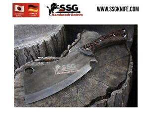 """Custom Forged High Carbon Steel Full Tang hunting, survival knife Chopper 12 """""""