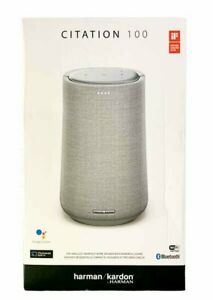 Harmon Kardon Citation 100 Bluetooth Speaker & Google Assistant  - Gray