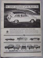 Austin Cars Original advert