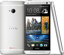 HTC One (m7) 3g sbloccato GSM Smart Phone Android OS - 32gb-Argento