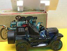 Vintage Avon Stanley Steamer Car Decanter Windjammer After Shave In Box Good