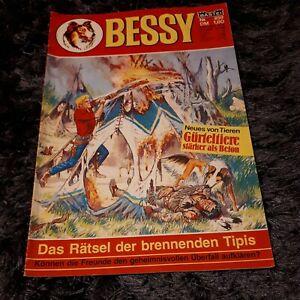 BESSY Nr. 859 mit Magazinteil, schöner BASTEI Western-Comic 1982