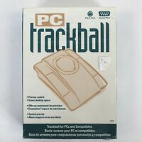 PC Trackball Mouse Products Model #38758A New Sealed NOS Computer Collector