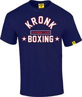 Kronk Boxing Gym Men's Training Camp Regular Fit T Shirt Navy