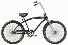 "Micargi 26"" Rover GT 68 spokes Men beach cruiser Oversize Bicycle Matte Black"