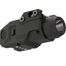 Laspur Tactical Gun Light, Magnetic Touch Remaining Rechargeable Battery  Displa
