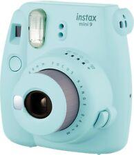 Fujifilm Instax Mini 9 Fotocamera istantanea Ice Blue + Pellicole 10 scatti