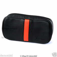 Black Soft Smoking Pipe Case Tobacco Bag Pouch Tamper Filter Tool Cleaner Larger