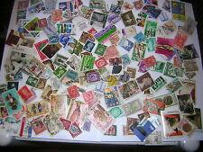 Lote de 440+ sellos de trabajo en todo el mundo