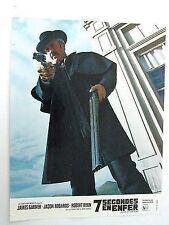 JASON ROBARDS LOBBY CARD 7 SECONDES EN ENFER