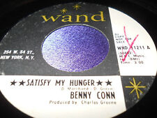 Soul 45: Benny Conn on Wand Satisfy My Hunger & I Just Wanna Come in Outta Rain