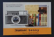 Catalogue appareil photo VOIGLANDER BESSY AK camera catalog Katalog