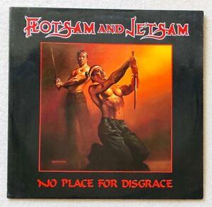FLOTSAM AND JETSAM . disgrace LP 1.Press 1988 Death Angel Metallica Slayer Sodom