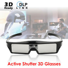 3D Glasses Active Shutter Rechargeable for 3D DLP-Link Projector Optoma Acer EUG