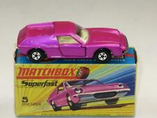 MATCHBOX SUPERFAST 05 LOTUS EUROPA, Metallic Pink Wide Wheels VVNM in H2 Box