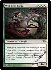 1 FOIL Wilt-Leaf Liege - Hybrid Shadowmoor Mtg Magic Rare 1x x1