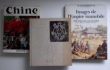 3 livres sur la Chine empire immobile l'art chinois