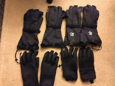 2 Pairs OR Pro Oregon Research XL 29 & XXL 13 Ski Snow Leather Gloves Mens #3