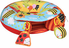 Red Kite  Sit Me Up   Inflatable Ring with play tray in Garden Gang  - BRAND NEW