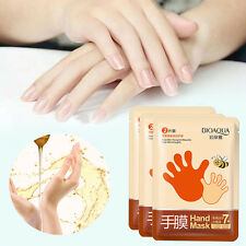 2PCS/1Pack Hand Essence Peel Mask Gloves Socks Moisture Dry Hard Dead Skin Mask