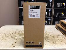 2018 Epson T6421 Photo Black Ink Cartridge Stylus 7890 7900 9890 Genuine OEM