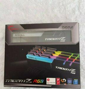 G.SKILL TridentZ RGB 64GB (4x16GB) F4-3733C17Q2-64GTZR Dual/Quad Ch.X299 Z390...