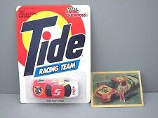 1992 Ricky Rudd #5 Lumina Race Car Hologram card  NASCAR Tide Racing 1:64 Lot
