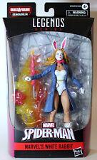 Marvel Legends Spider-Man White Rabbit Action Figure-BAF Demogoblin