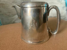 More details for vintage south african railways (sar / sas) silver plate teapot