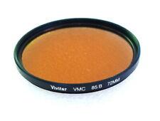 72mm VIVITAR (Tiffen) VMC 85B Warming CC Filter - Multi Coated - NEW