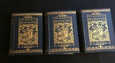THE STORY OF MANKIND BY FRIEDRICH RATZEL- IN 3 VOLUMES-1896,  1898, 1904,