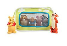 winnie the pooh and friends bath set with reusable, attachable bag