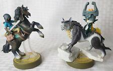 LINK RIDER horse WOLF LINK  Nintendo Legend Of Zelda Breath Of The Wild Wii U