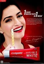Colgate Visible White Toothpaste-one shade whiter teeth 100g U