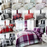 Duvet Cover Sets With Pillow Cases Size Single Double King Super King BEDDING