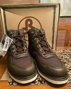 NEW Pro Line W575 Yukon Brown Wading Shoes Men's Size 7D Felt Sole Fishing Boots