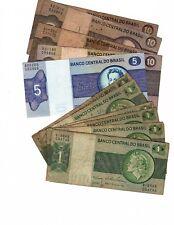 Brazil Banco Central do Brasil 1970's? 13 cruzeiros - 8 x 1, 1 x 5, 4 x 10