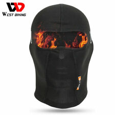 WEST BIKING Thermal Breathable Balaclava Cycling Ski Headwear Fleece Face Cover